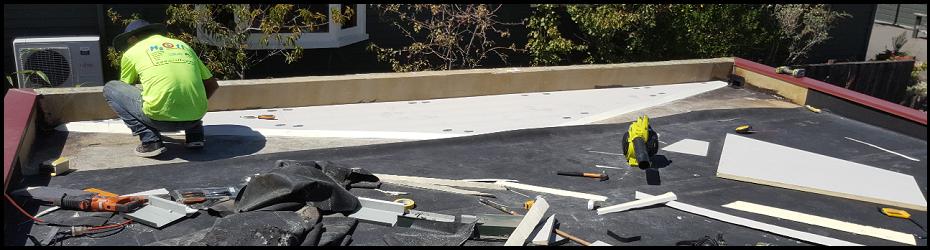 How to Repair a Flat Roof: Repairing Butyl